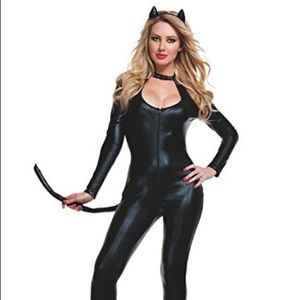 Starline Klepto Kitty Kat Catsuit 3pc Costume